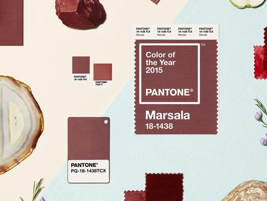 pantone color of the year 2015 - marsala - inspiration boards for wedding planning by grace and serendipity