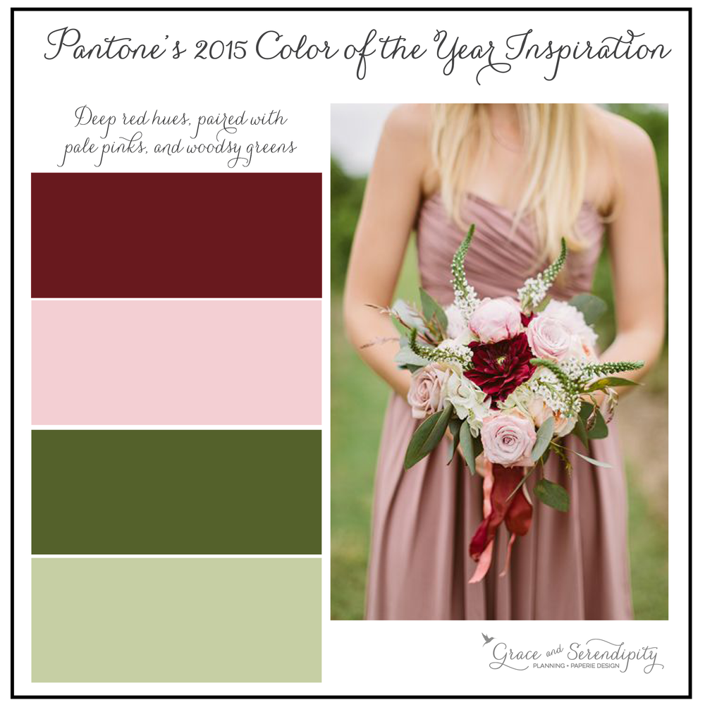 color palettes pantone u0027s 2015 color of the year marsala part 2