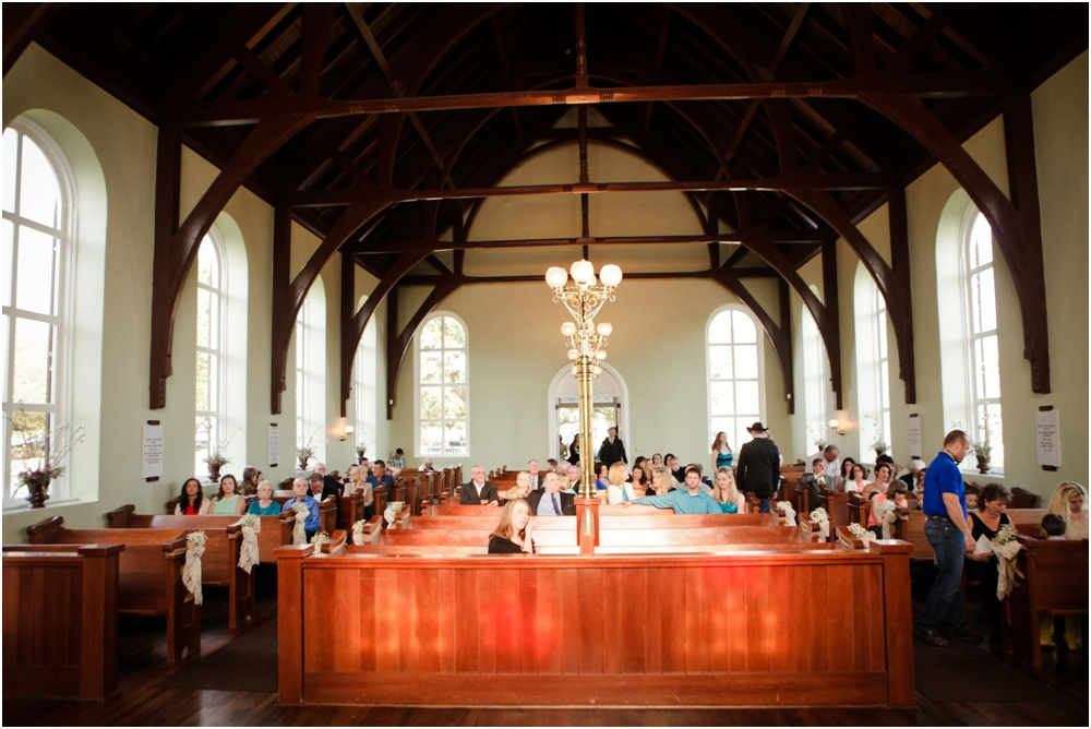 old christ church - pensacola wedding