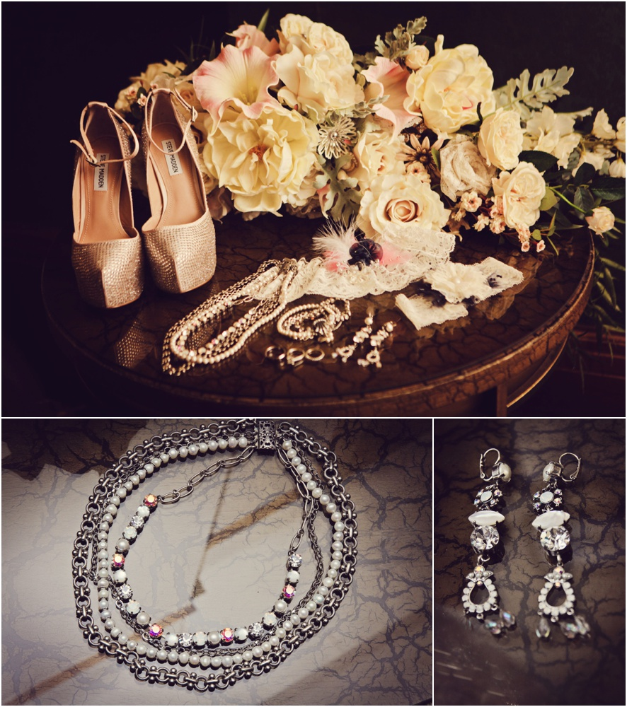 pensacola wedding - brides jewelry