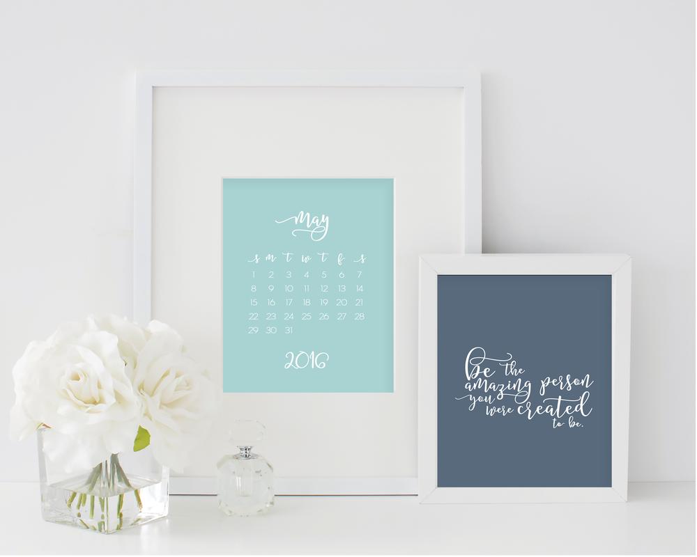 grace and serendipity - 2016 encouragement calendar