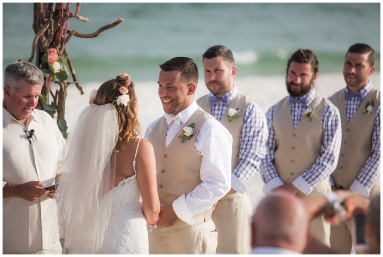 Boho Beach Wedding - Landshark Landing - Pensacola Beach Wedding, Photography by Aislinn Kate Photography, Design by Grace and Serendipity