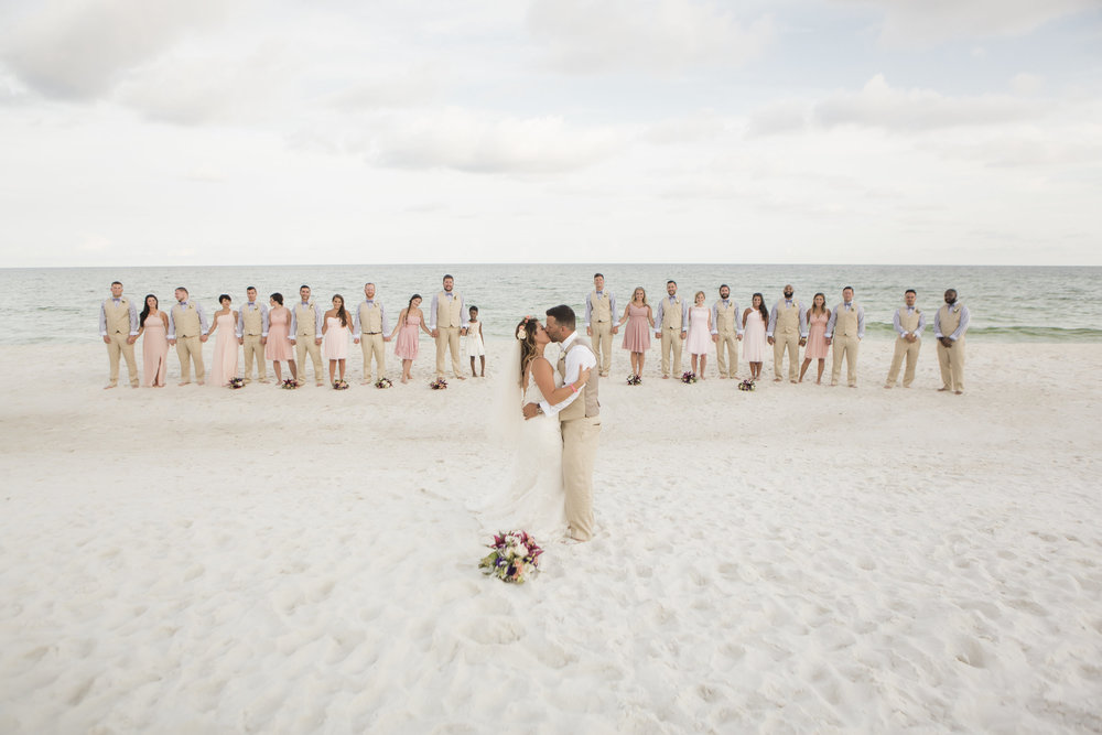 Blush Bohemian Beach wedding - Aislinn Kate Photography + Grace and Serendipity