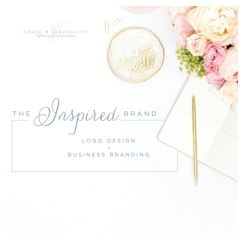 Inspired Business Branding - Logo Design and Branding by Grace and Serendipity