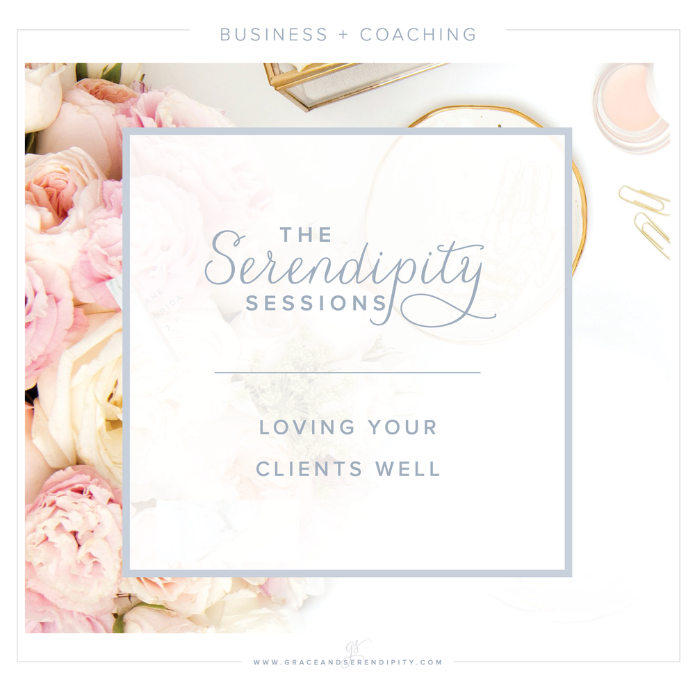 Serendipity Sessions - coaching sessions for creative business owners - the client experience by Grace and Serendipity