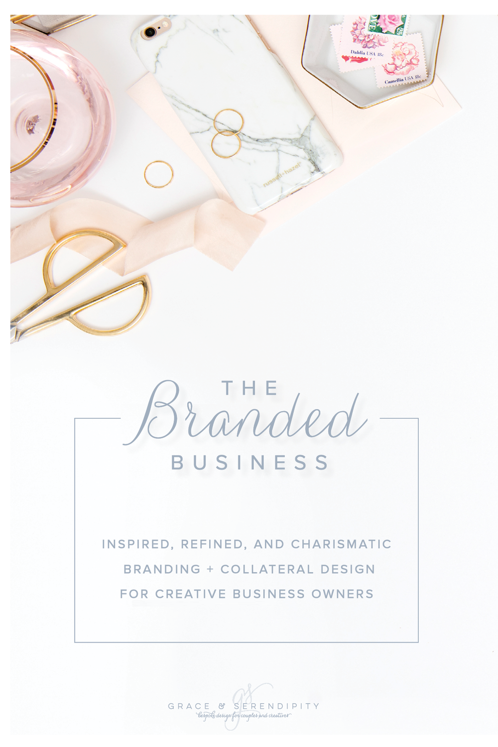 Business Branding and Collateral Design for Creative Business Owners by Grace and Serendipity