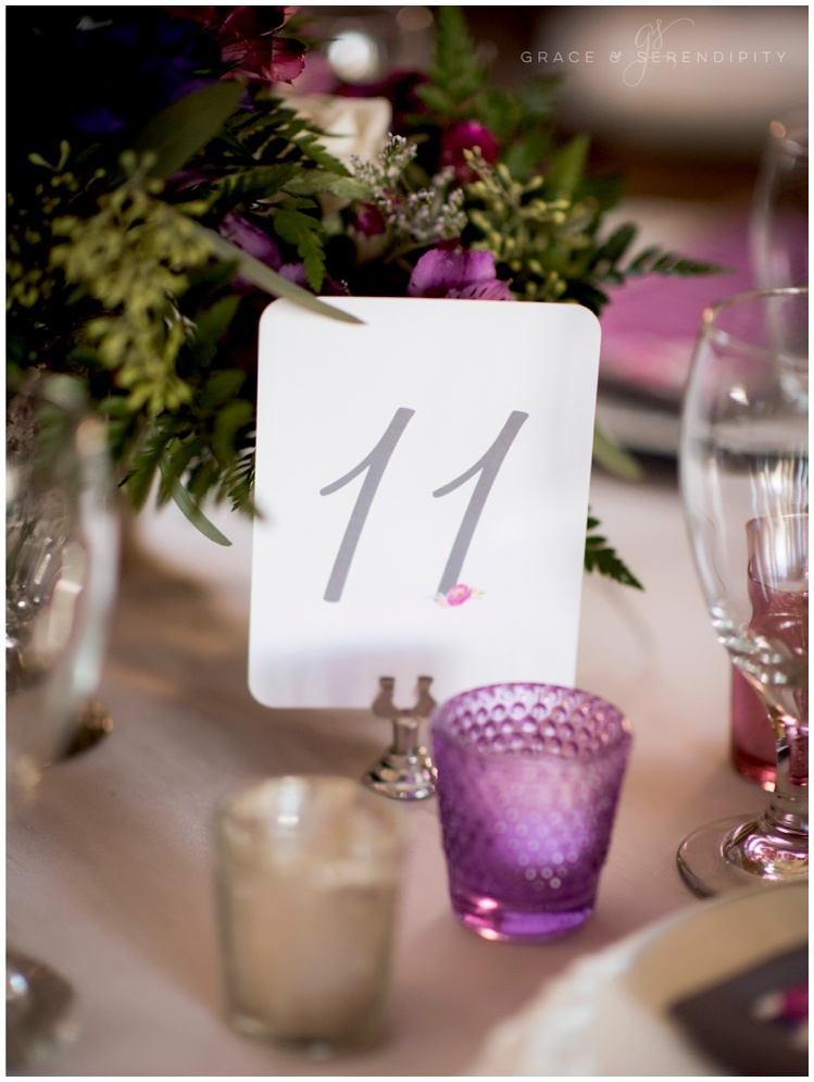 Wedding Table Numbers by Grace and Serendipity, Aislinn Kate Photography