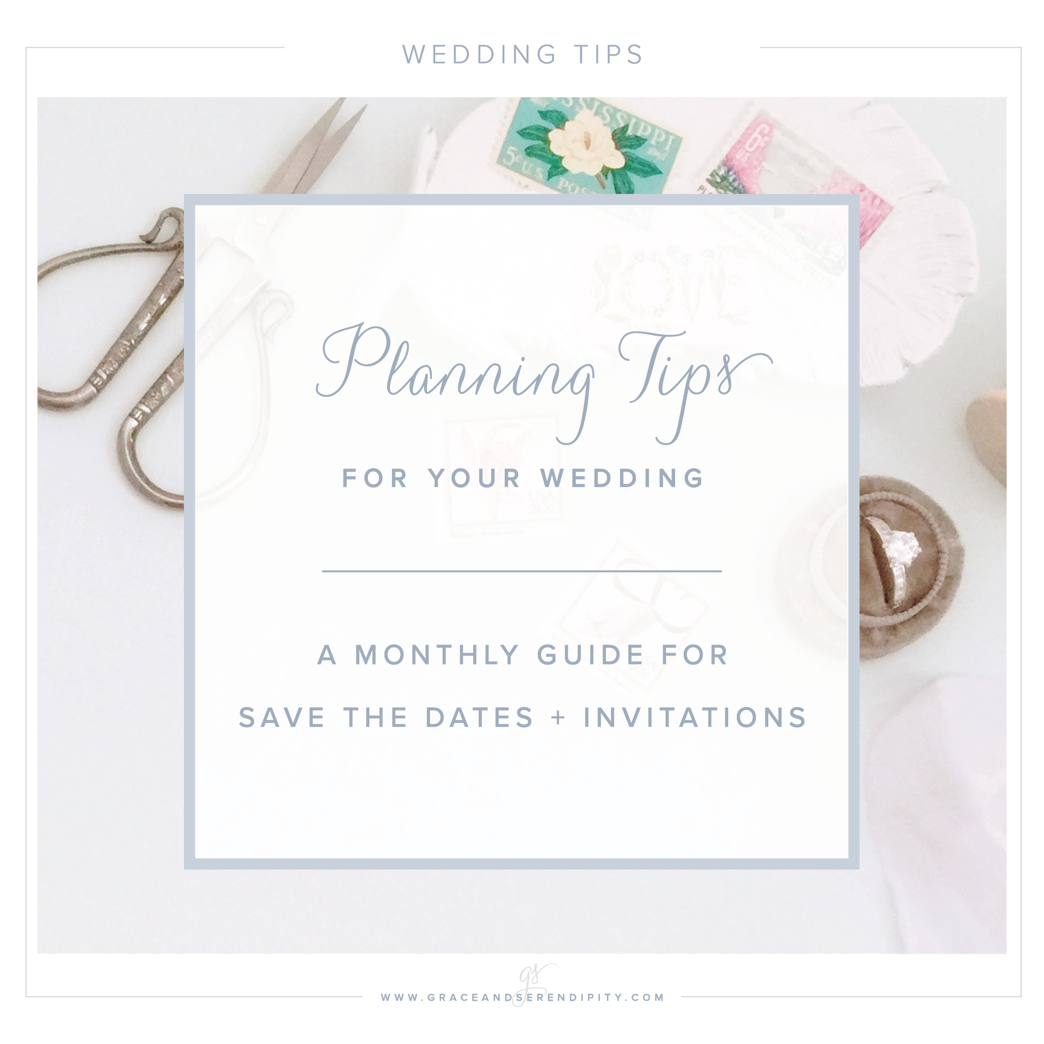 Wedding Tips: A Timeline For Custom Save The Dates And Wedding Invitations