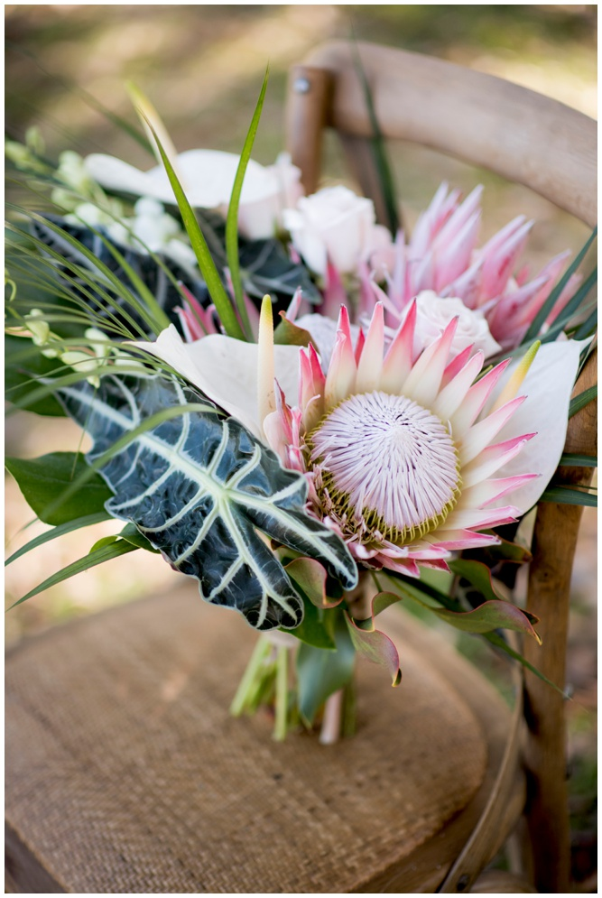 Protea Flower Bouquet - Swiss Family Robinson styled shoot - by Aislinn Kate Photography_0227.jpg