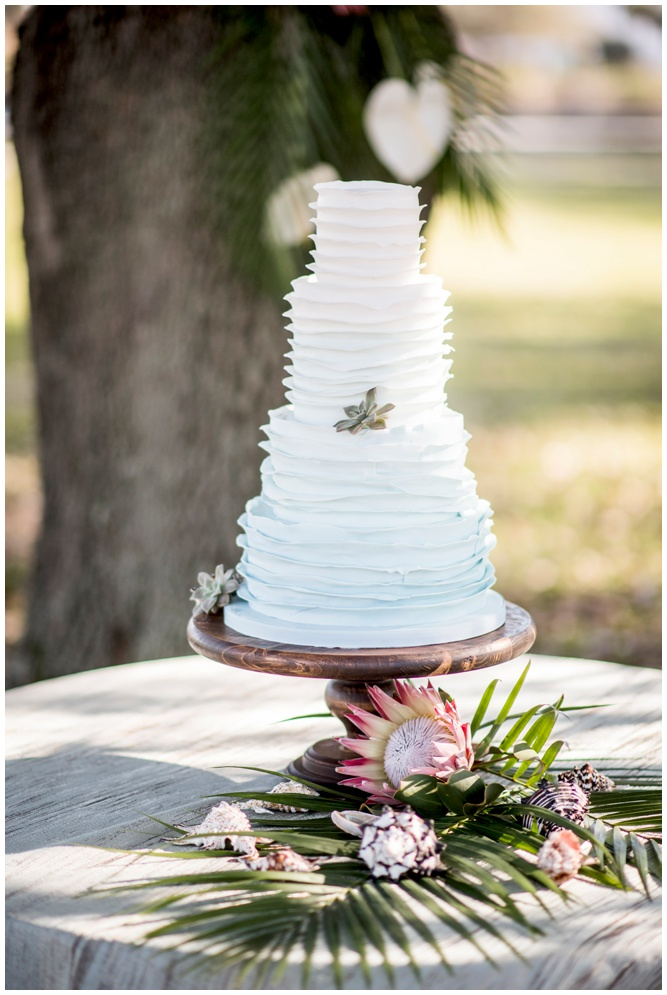Ruffled Ombre Wedding Cake - Swiss Family Robinson styled shoot - by Aislinn Kate Photography_0240.jpg