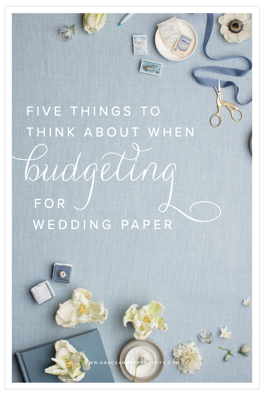 five things to remember when budgeting for wedding invitations