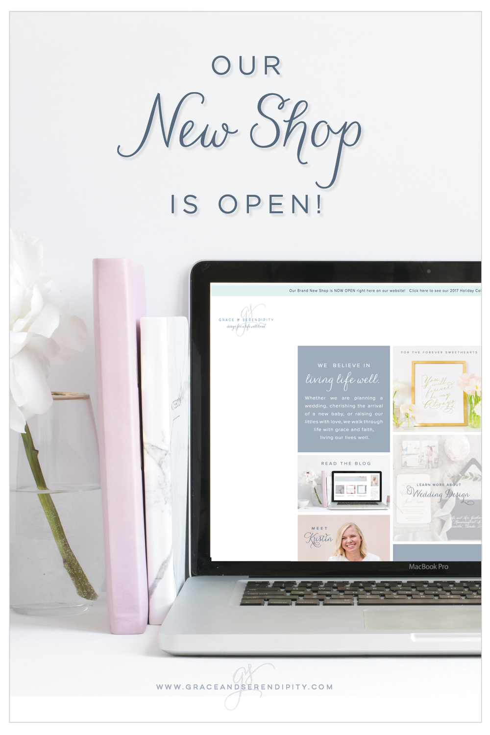 The New Grace and Serendipity Shop is Now Open!