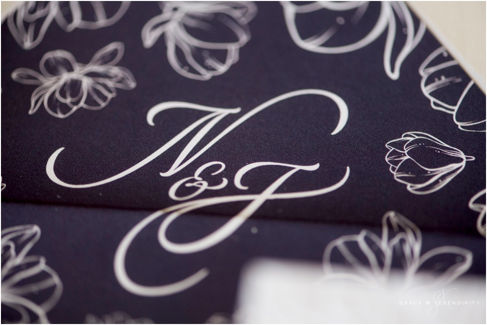 Custom Wedding Monogram Design by Grace and Serendipity, Photography by Aislinn Kate