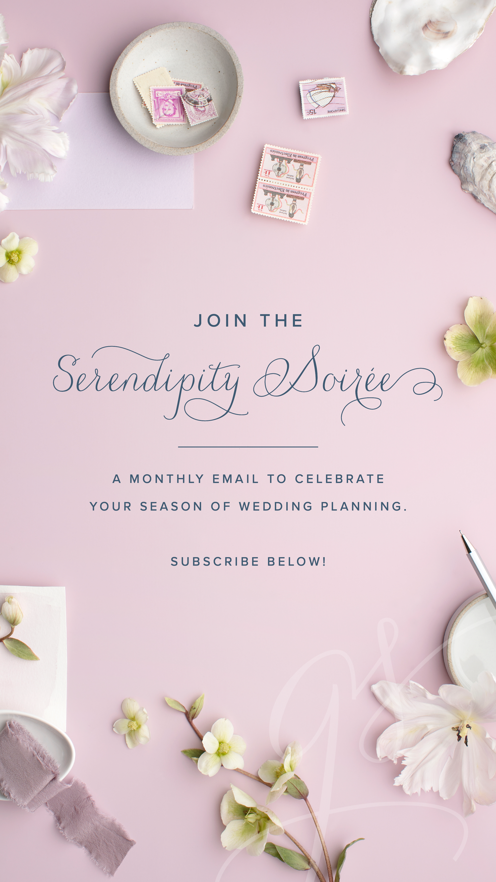 Join the Serendipity Soiree with Grace and Serendipity