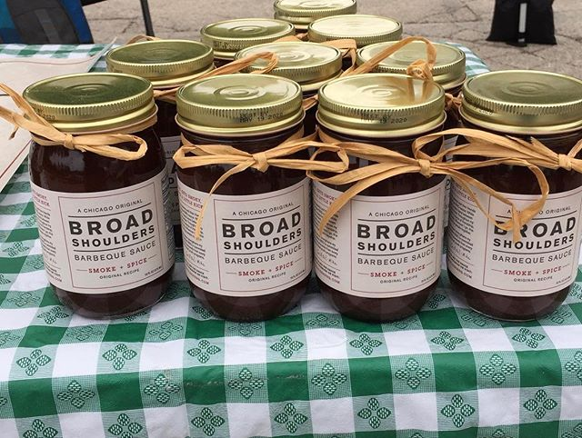 A jar of premium BBQ sauce makes for a great present. Just in time for Dad's Day! We're at the Wilmette farmers market and Evanston Markets today and Wicker Park Farmers Market and Logan Square Farmers Market tomorrow.  Grill On!