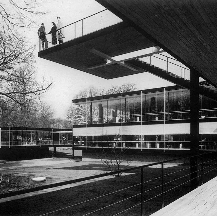 German Pavillon - Egon Eiermann 1958 World's Fair in  #Brussels