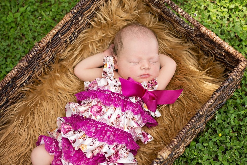 Outside Newborn Photos