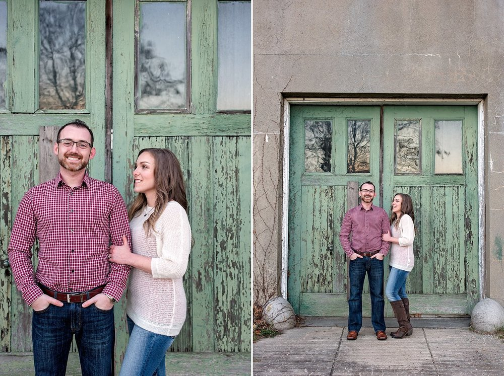 Engagement photos at Harkness