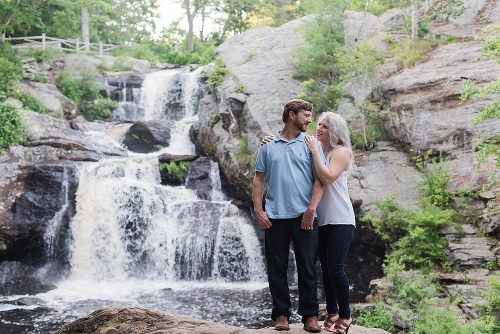 Chapman Falls Engagement Session