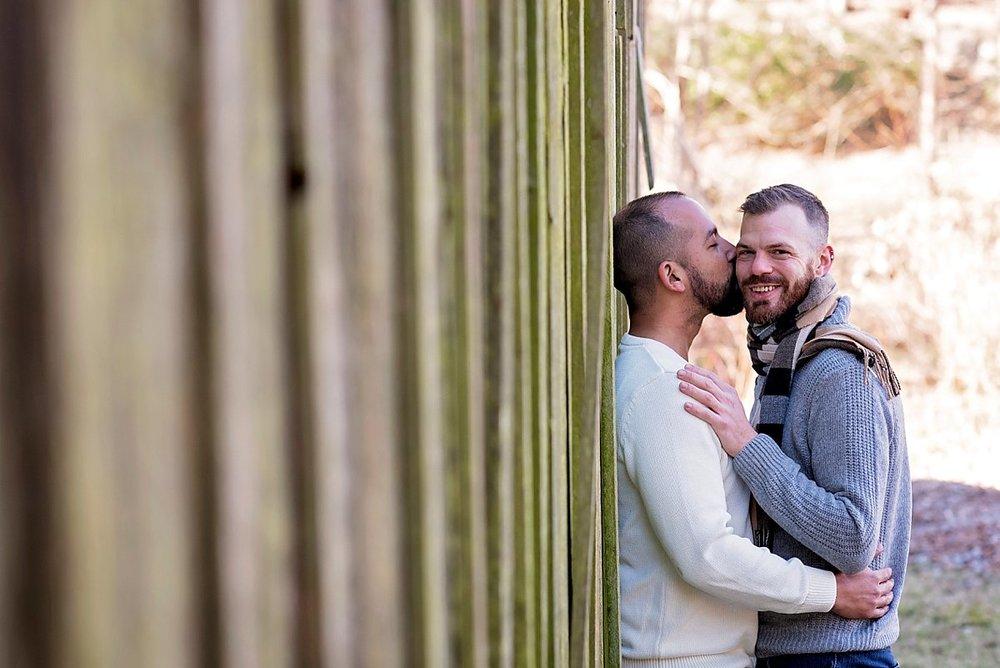 LGBT engagement session