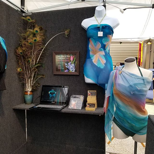 Silksbytonya.com at Fairfax Corner Va Art Festival