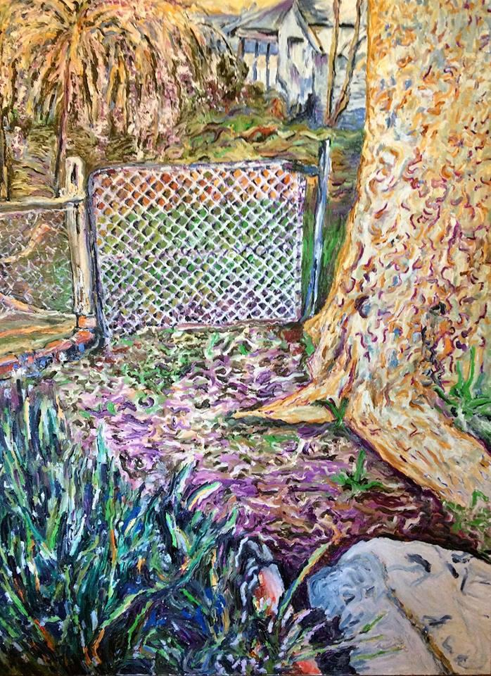 Garden Gate - Mansfield     Oil on Canvas    91.4 cm x 121.8 cm    $650