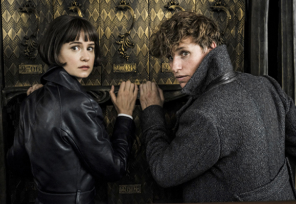 Katherine Waterston and Eddie Redmayne return to Rowling's world of wizardry