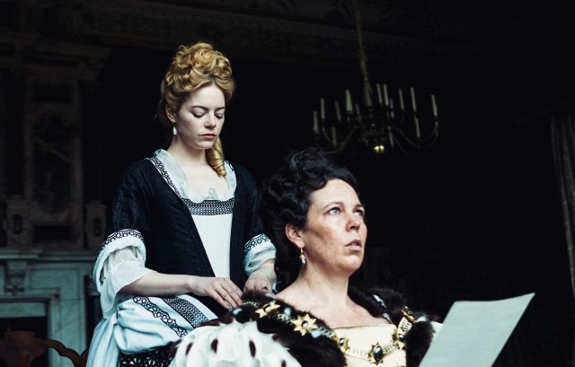 Emma Stone and Olivia Colman viciously adore each other in The Favourite