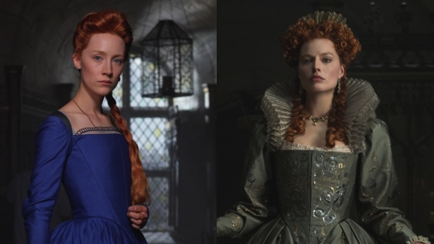 Saoirse Ronan and Margot Robbie are monarchs seeking to take and maintain their kingdoms in Josie Rourke's Mary Queen of Scots.