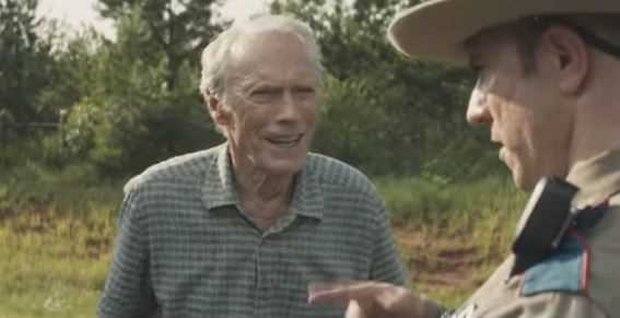 Clint Eastwood as 90 year old Earl the Mexican cartel drug mule.