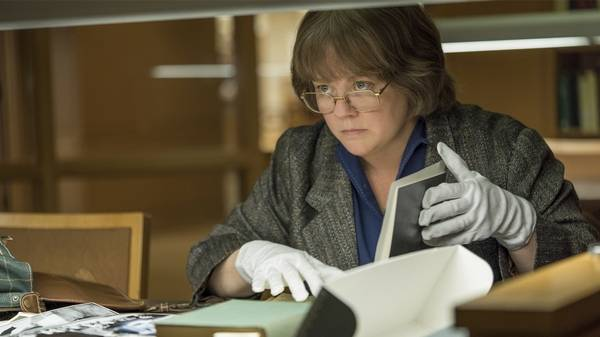 Melissa McCarthy says as the biographer turned forger Lee Israel in Can You Ever Forgive Me
