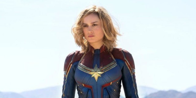Brie Larson becomes Marvel's first female leading hero in 90's infused Captain Marvel