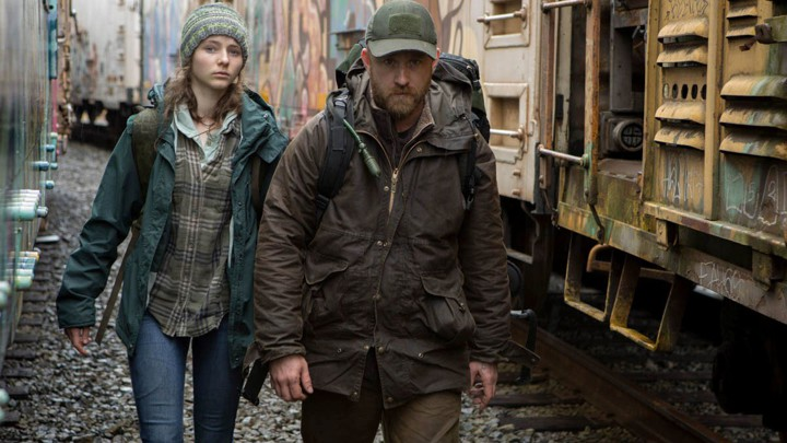 Thomasin McKenzie and Ben Foster star in Debra Granik's Leave No Trace