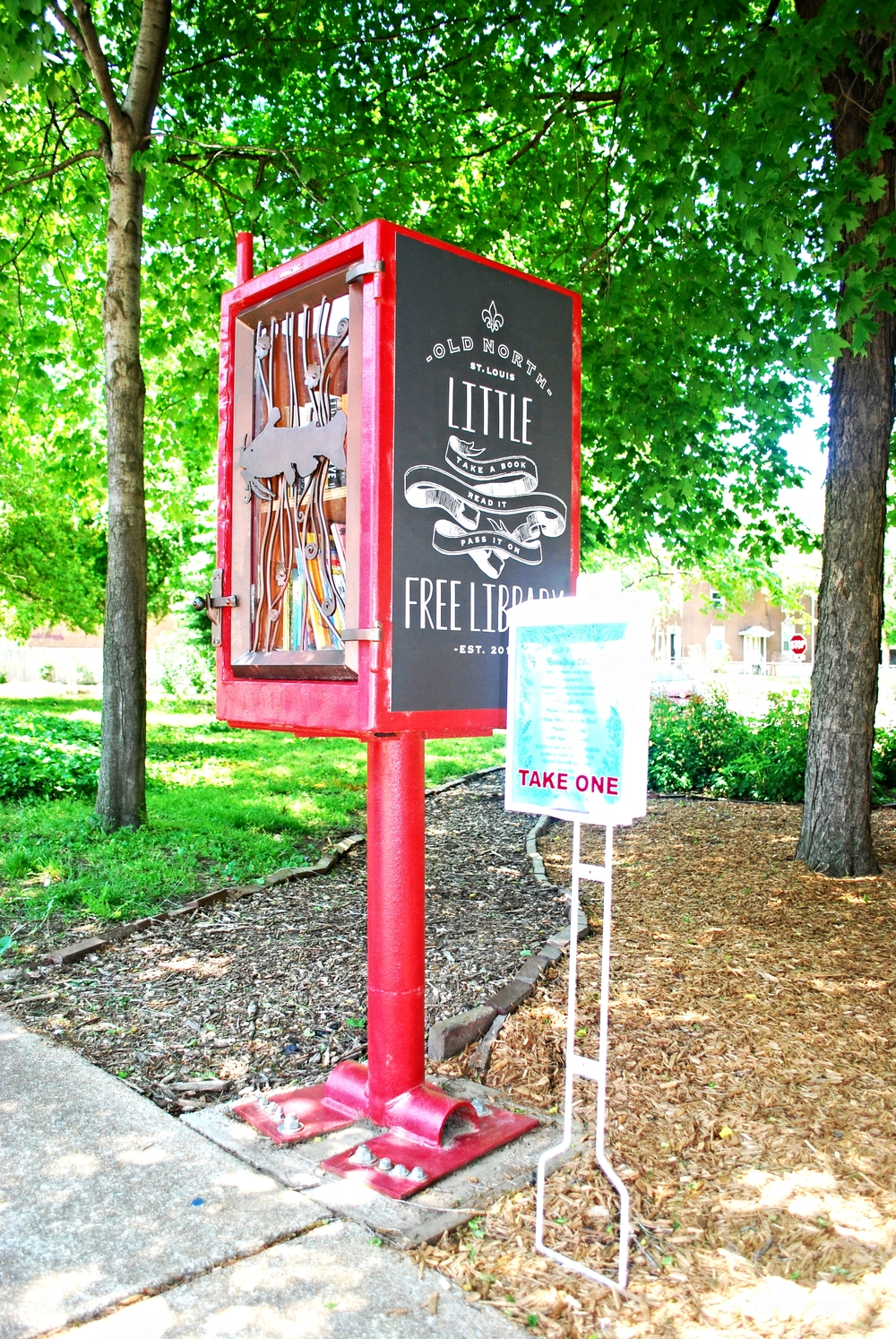 Wingmann Park & Little Free Library