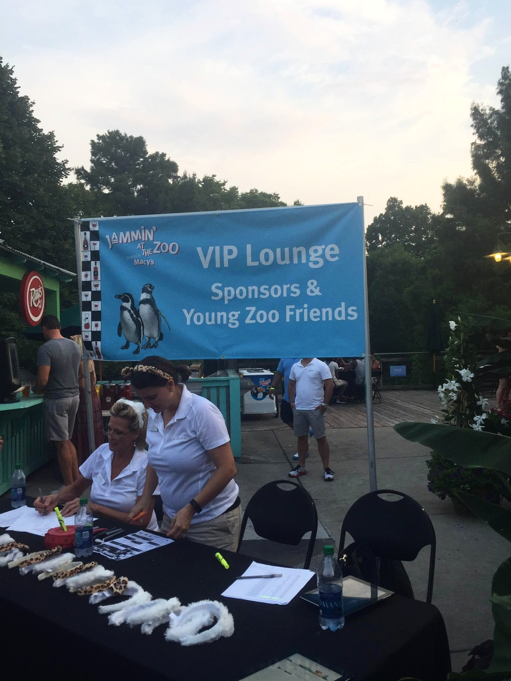 Young Zoo Friends VIP area