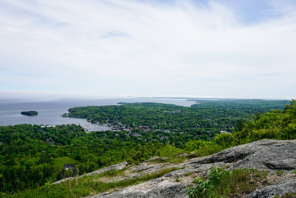 View from Mount Battie, Camden, ME