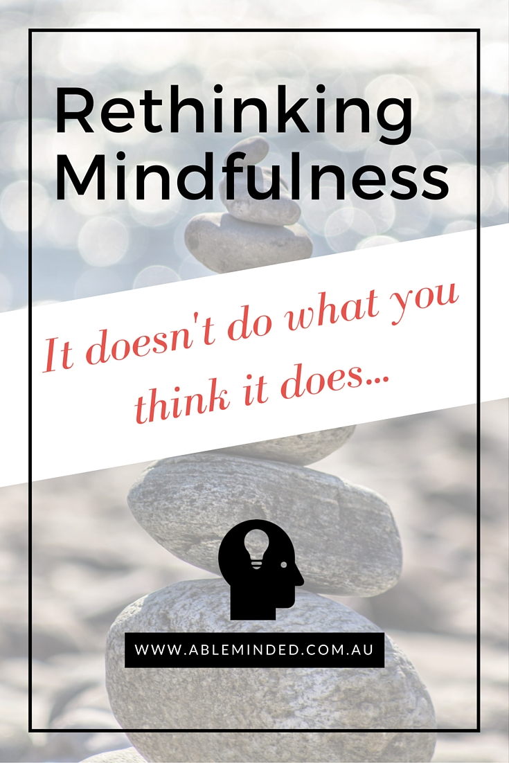 Rethinking Mindfulness: Control, Awareness and Choice.