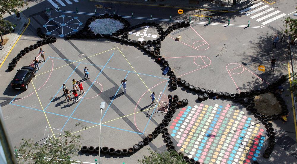 (Barcelona Superblocks, Courtesy of Barcelona Architecture Walks)