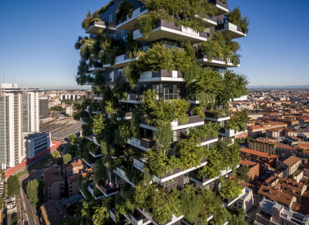 (Bosco Verticale by Boeri Studio, Courtesy of Curbed)