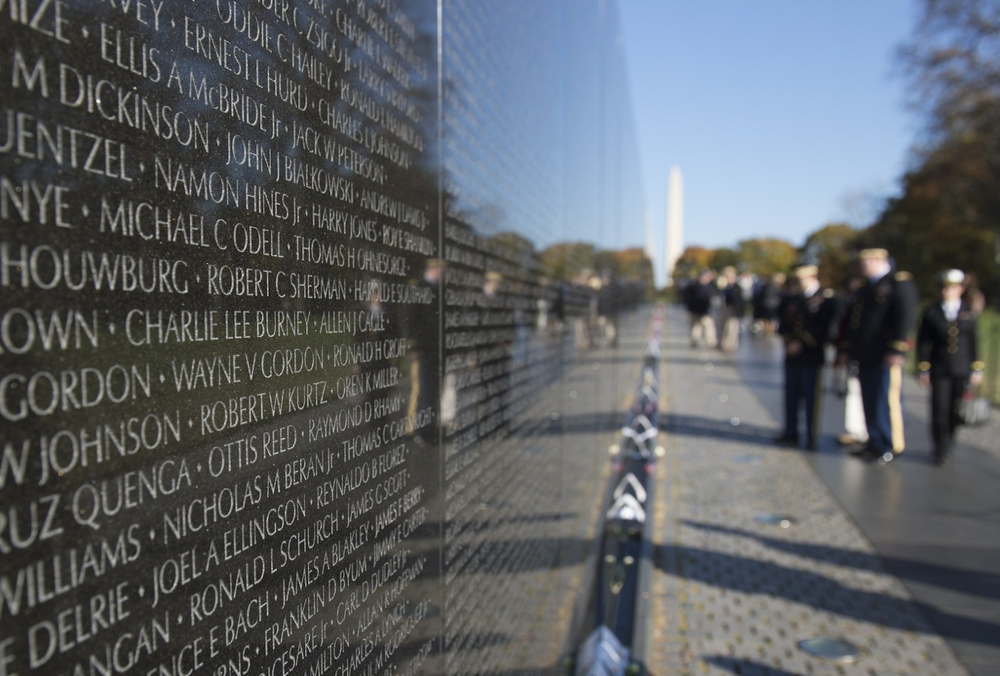 Photo Credit: Vietnam Veterans Memorial - Maya Lin. Photo Courtesy of Archdaily.