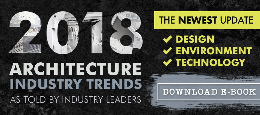 2018 architecture industry trends