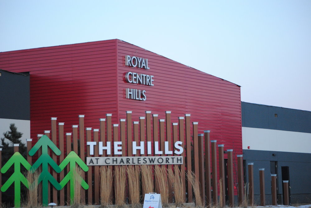 Royal Centre Hills project.