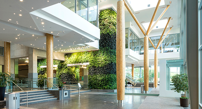 Kasian Architecture's Edmonton Federal Building restoration has received numerous accolades, including the 2016 Green Roofs for Healthy Cities award. Image Credit:  Kasian Architecture