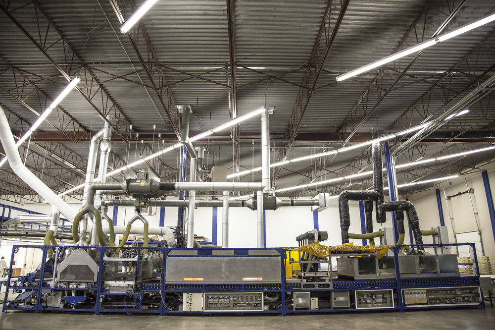 Cadillac Coatings' one-step production line – The Paintline.