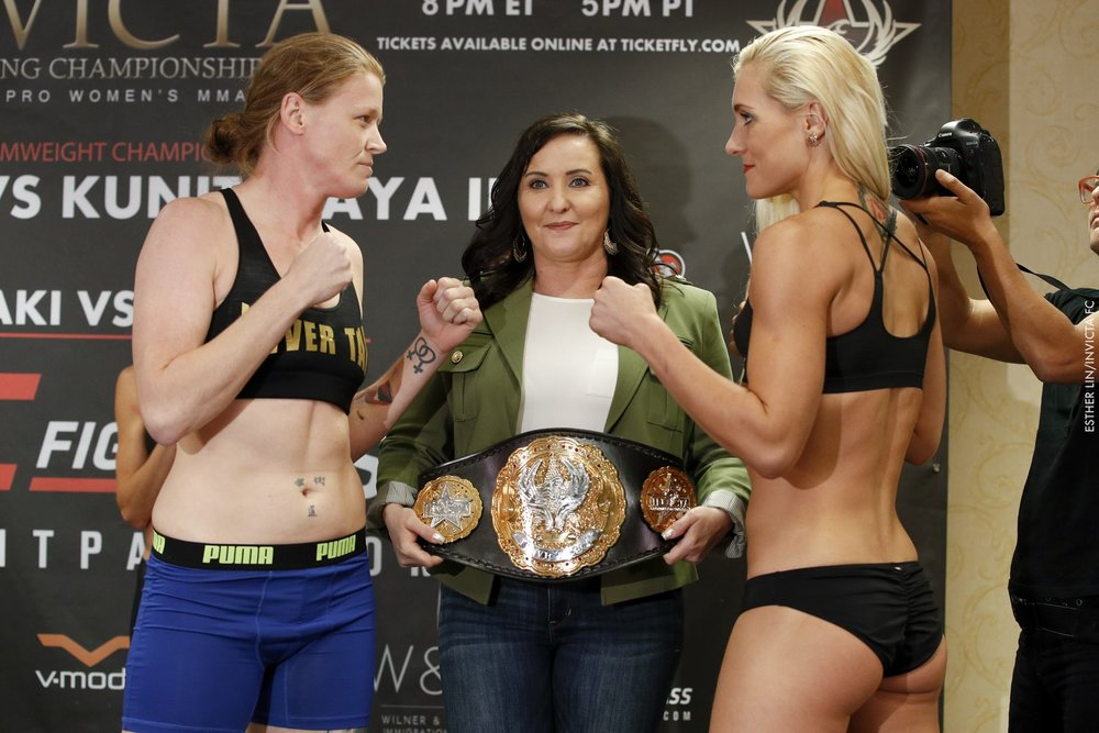 Invicta FC 22 Weigh-ins |Photo Credit: Esther Lin, Invicta FC