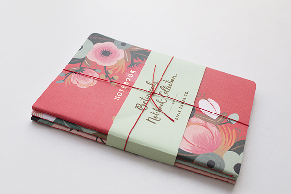 This is what I won! Isn't it so pretty!!! Notebooks by  The Rifle Paper Co , photo by  Flowerona