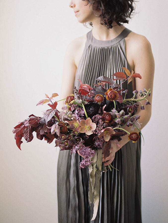The photo/creation that won me the prize! I created this bouquet at a one-on-on workshop with  Sarah Winward , one of my idols.  by Chikae OH. Photo by  Kate Osborne