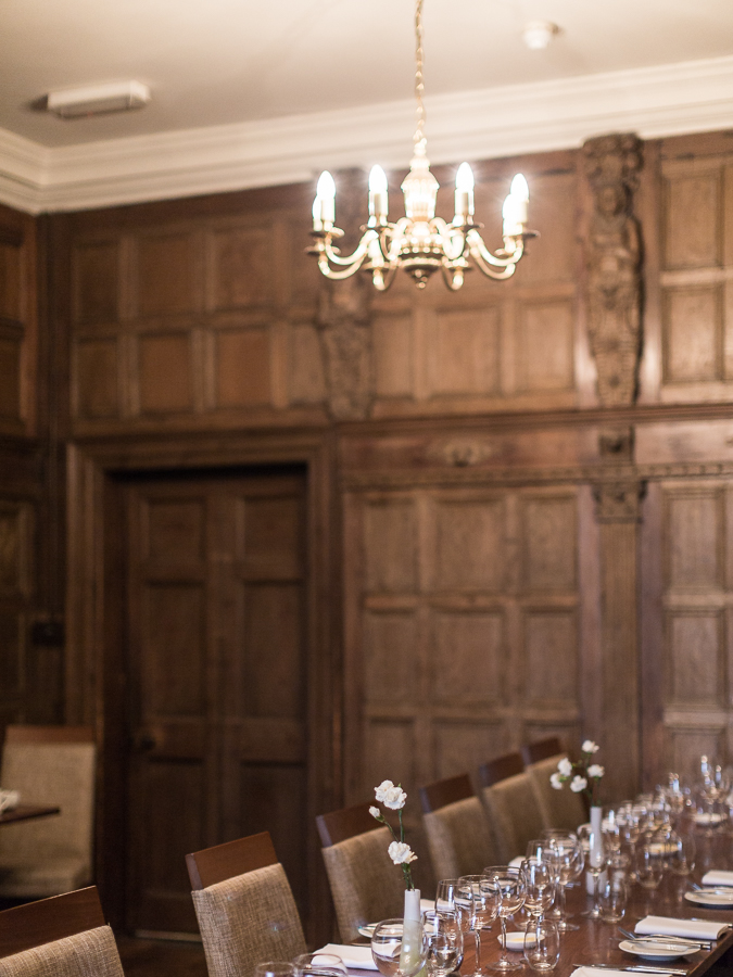 Pelham House dining room