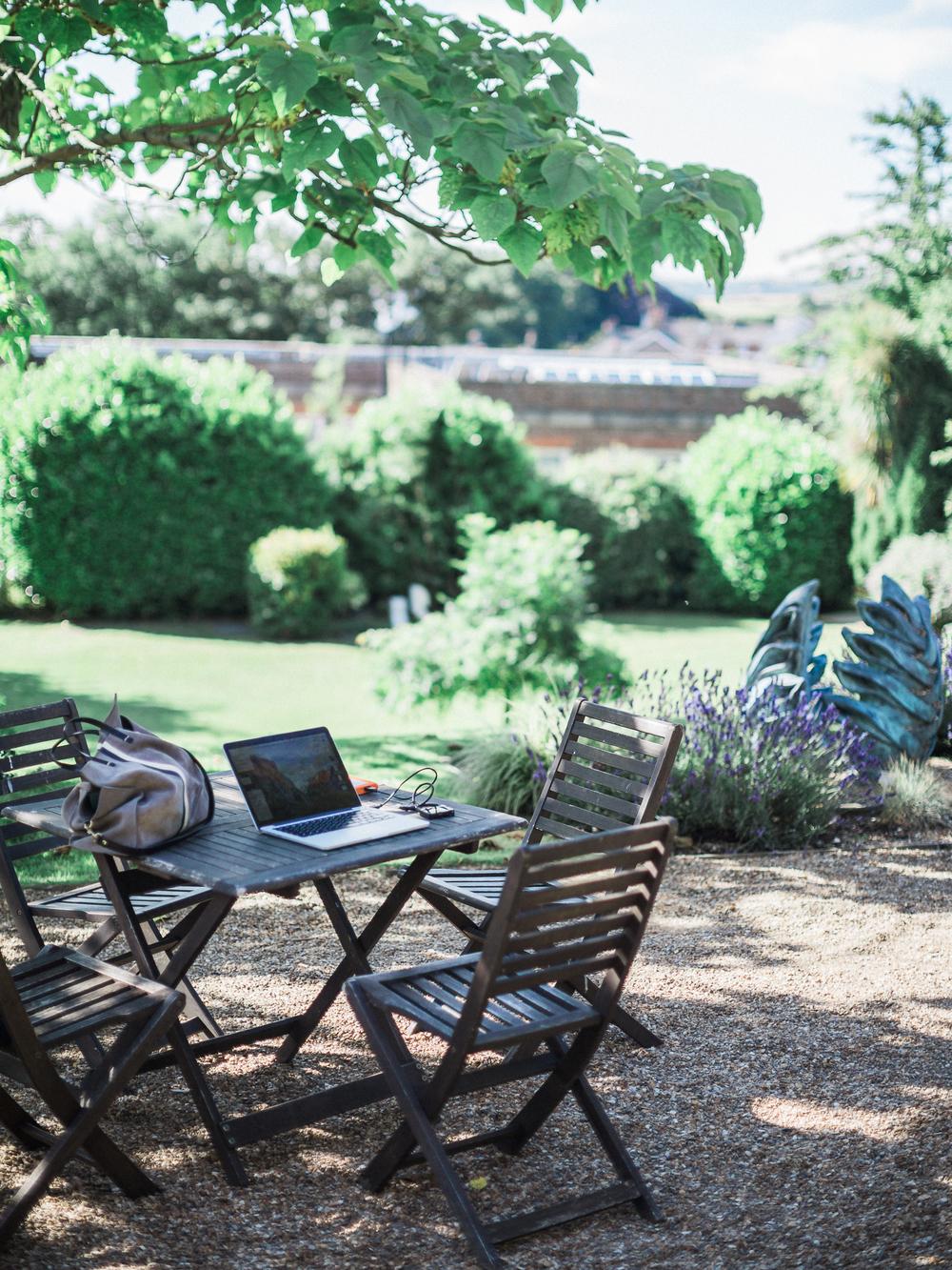 Pelham House gardens