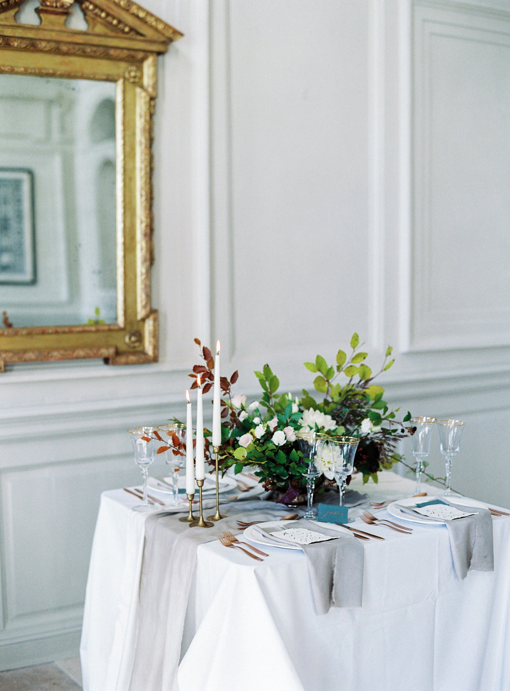 tablescape | Gloster House, Brosna, Ireland